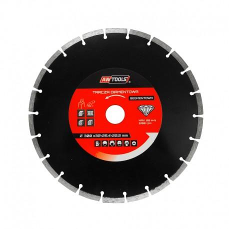 SEGMENTED RIM DIAMOND BLADE 180x25.4-22.2mm