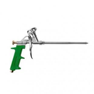 PU FOAM GUN 320mm w/ ZINC ALLOY BODY & GREEN HANDLE