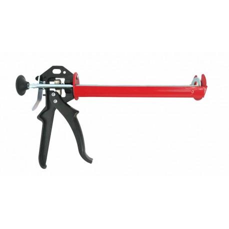 REINFORCED HALF-BARREL CAULKING GUN/ 3x SMOOTH ROD 300ml