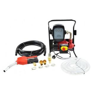 ELECTRIC SELF-PRIMING FUEL PUMP MINI CPN 24V w/ FLOW METER