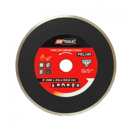 CONTINUOUS DIAMOND SAW BLADE 125x22.2mm