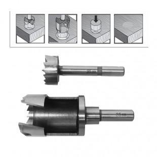 FORSTNER DRILL BIT & PLUG CUTTER SET 25mm/ FOR WOODWORKING