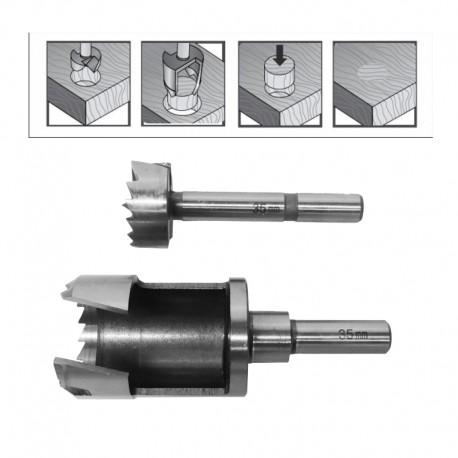 FORSTNER DRILL BIT & PLUG CUTTER SET 30mm/ FOR WOODWORKING