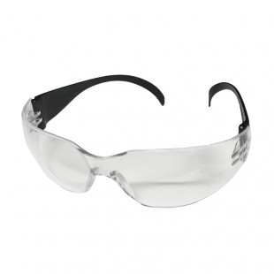 FRAMELESS SAFETY GLASSES w/ CLEAR LENS