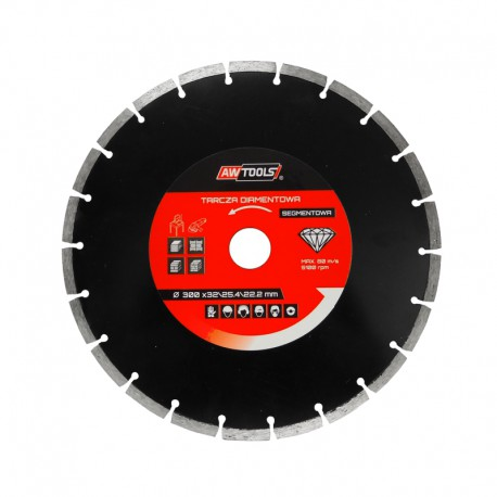 SEGMENTED RIM DIAMOND BLADE 125x22.2 mm