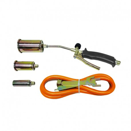 GAS HEATING TORCH w/ 3-NOZZLE 25-35-50mm