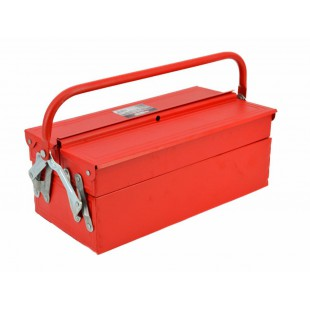 METAL CANTILEVER TOOLBOX w/ 3-DRAWERS 430x220x160mm