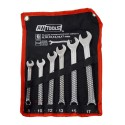 COMBINATION WRENCH SET 8-17mm 6pcs ROLL-UP POUCH/ BOX