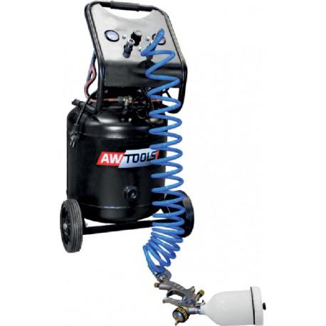 VERTICAL OIL-LUBRICATED AIR COMPRESSOR w/ DIRECT DRIVE LFL-40L