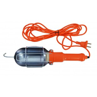 WORKSHOP LEAD LAMP 220V 10m w/ WIRE CAGE