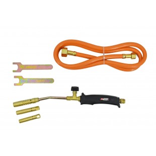SOLDERING GAS TORCH WITH 3 NOZZLES