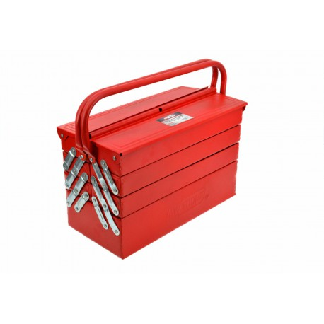4-TIER 7-TRAY HEAVY DUTY METAL CANTILEVER TOOLBOX 430x200x250mm