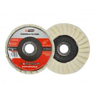 POLISHING FELT FLAP DISC 125x22.22mm