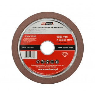 DIAMOND DISC FOR SHARPENING SAW BLADES 125mm