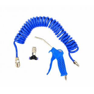 AIR BLOW GUN SET 90mm w/ AIR HOSE & T-CONNECTOR