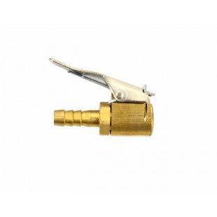 CLIP-ON TIRE INFLATOR 6mm/ 10pcs BRASS