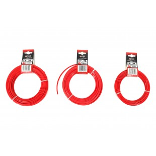 STAR TRIMMER LINE RED CLASSIC 1.3mm x15m HANG TAG