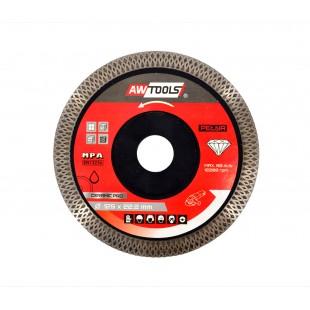 MESH CONTINIOUS DIAMOND BLADE 125x22,2mm/ CERAMIC PRO