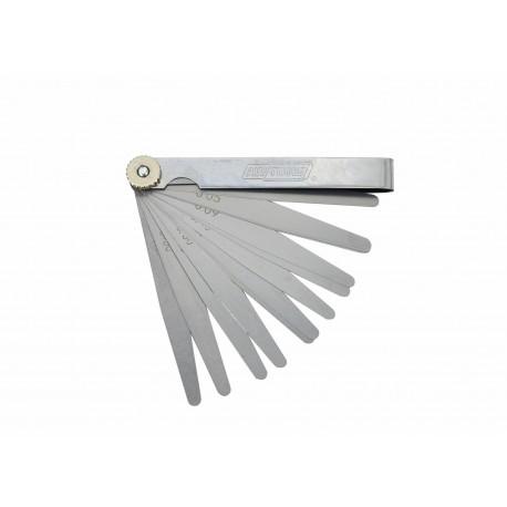 SZCZELINOMIERZ 100mm/ 17 LISTKÓW/ 0.02-1.0mm