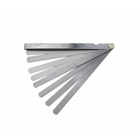 SZCZELINOMIERZ 200mm/ 17 LISTKÓW/ 0.02-1.0mm/ RÓWNOLEG£Y