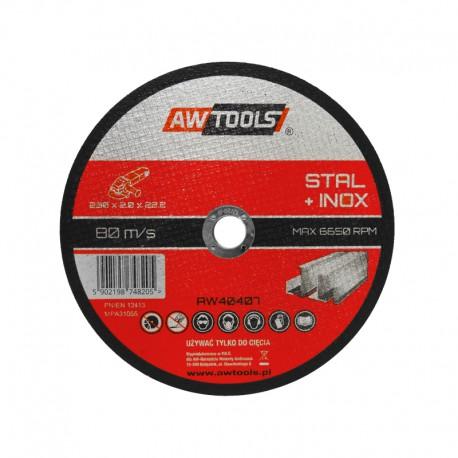 STEEL CUTTING DISC 125x1.0x22.2mm